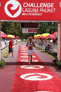 And finally me in finish line,  the time is -20 min ;-)