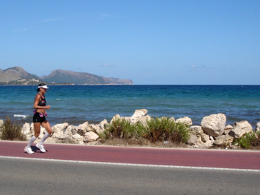1.30 PM on Mallorca, getting ready for the heat on kona