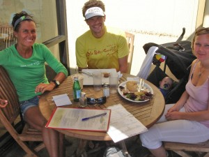 Race briefing with Tommy Nielsen, the most experienced danish triathlete on hawaii